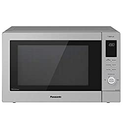 Image of Panasonic NN-CD87KS Home Chef 4-in-1 Microwave Oven with Air Fryer, Convection Bake, FlashXpress Broiler, Inverter, 1000 Watt, Stainless Steel, 1.2 Cu.Ft, cft: Bestviewsreviews