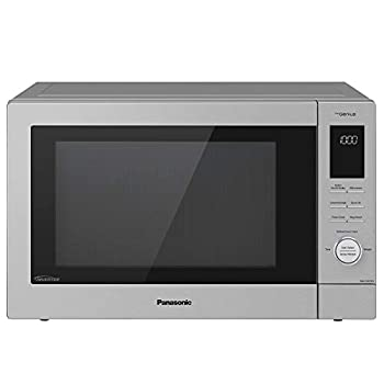 Panasonic HomeChef 4-in-1 Microwave Oven with Air Fryer Convection Bake FlashXpress Broiler Inverter Microwave Technology 1000W 1.2 cu ft with Easy Clean Interior - NN-CD87KS  Stainless Steel