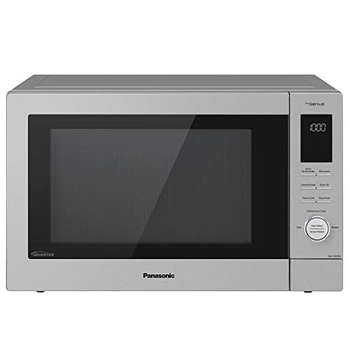 Panasonic NN-CD87KS Home Chef 4-in-1 Microwave Oven with Air Fryer, Convection Bake, FlashXpress...