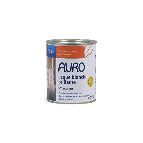 Auro Weißlack, glänzend, Aqua - 0,75L [Misc.]