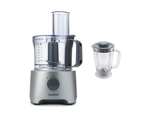 Kenwood FDP301SI MultiPro Compact Robot de cuisine, 800 W, 2,1 litres, argent