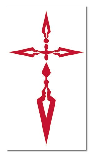 Fate/zero Kiritsugu Command Seal Temporary Tattoos