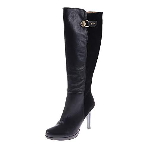 Hispanitas Damenschuhe High Heel Overknee Stiefel Sauvage I4 Negro HI40752C005 (39 EU)