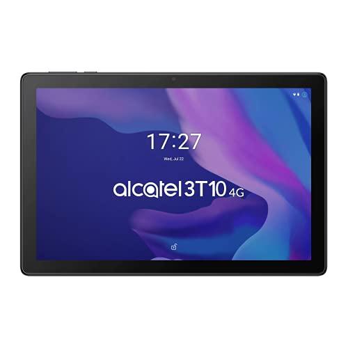Alcatel 3T 10' 4G Tablette Quad Core Camera Mémoire 32 Go Extensible, 2 Go Ram, Android 10, Black [Italie]