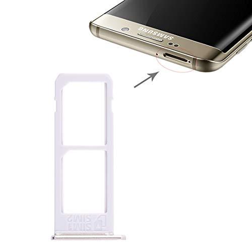 MDYH HDZ La Bandeja de Tarjeta SIM for AYD 2 Galaxy S6 Edge más / S6 Edge + (Gris) (Color : Gold)