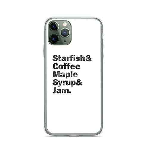 Prince Starfish & Coffee Phone Case Compatible with iPhone 12 11 X Xs Xr 8 7 6 6s Plus Pro Max Samsung Galaxy Note S9 S10 S20 Ultra Plus