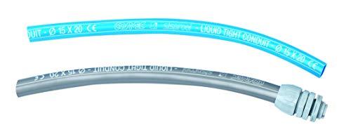 COSMEC 6085/36 - CSM 6085-36 - Tubo fless.PVC liscio 36x43 Grigio CE