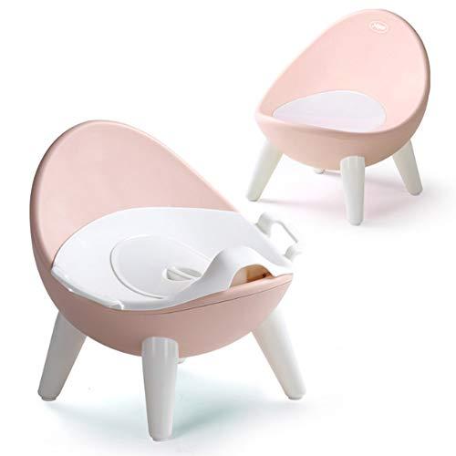 PYapron Sedile da Vasino Vasino da Toilette Sedile da Vasino Separabile Facile da Pulire Design con Schienale Alto Base Antiscivolo in Gomma Morbida Non Facile da Far Scorrere