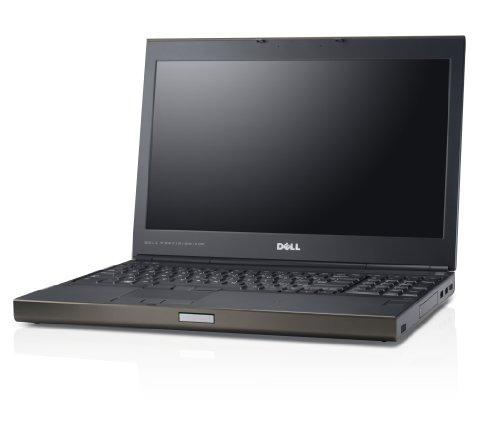 Dell Precision M4700 39,6 cm (15,6 Zoll) Notebook (3rd gen Intel® Core™ i7-3840QM, 2.80GHz QuadCore Turbo 8MB Cache, 8GB (2x4GB) RAM 1600MHz, 256GB Serial ATA III SSD, NVIDIA Quadro K2000M, DVD+/-RW Slotload, Win 7 Pro 64Bit)