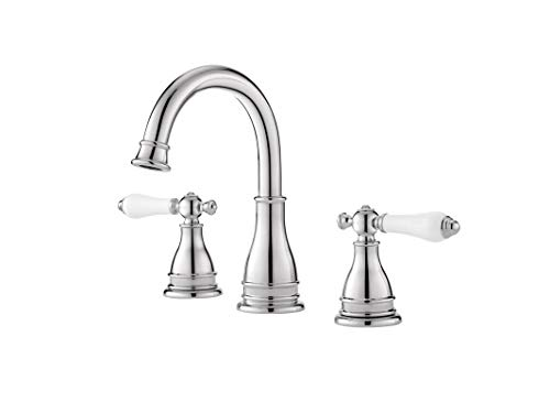 Pfister LF-WL8-SNPC Pfister Sonterra 2-Handle 8' Widespread Bathroom Faucet in Polished Chrome Pfister Sonterra 2-Handle 8' Widespread Bathroom Faucet in Polished Chrome, Small, Polished Chrome