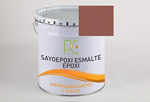 PINTURA EPOXI 2 COMP. PARA SUELOS COLOR ROJO INGLES 6 KG (4 kg. base + 2 kg. catalizador)