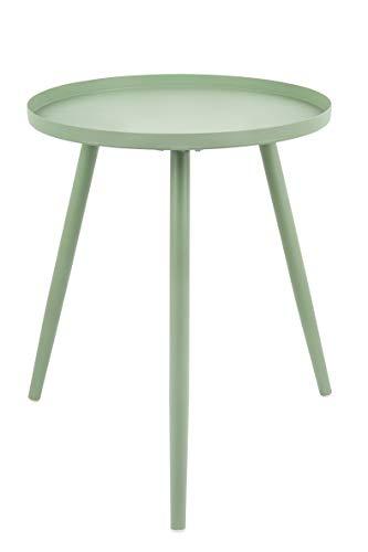 Present Time - Table d'appoint métal Vert Jade Elle Ø40 cm