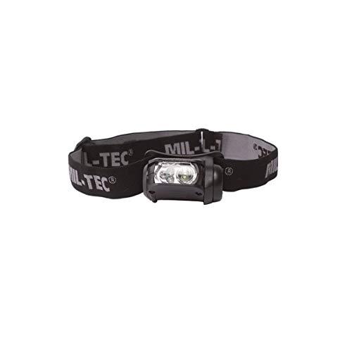 Mil-Tec Kopflampe LED Molle 4-farbig sw