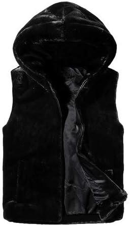 LYLY Vest Women Vest Jacket Mens Autumn Warm Sleeveless Jacket Male Winter Casual Waistcoat Men Vest Plus Size Vest Coats Vest Warm (Color : Black, Size : XXL)