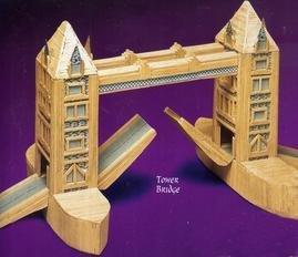 Tower Bridge Matchstick Kit - Hobbys MatchCraft -