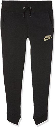 Nike Mädchen Modern Trainingshose, schwarz, S/128-137 cm