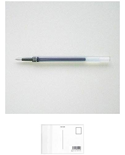 三菱鉛筆 ゲルボールペン替芯 シグノ 0.38 ブルーブラック UMR83.64 【× 4 本 】 + 画材屋ドットコム ポストカードA