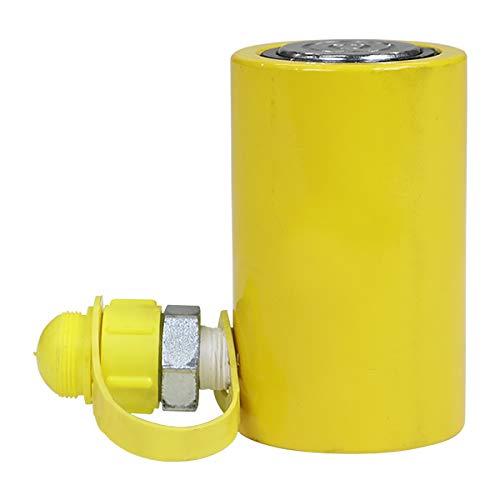 油圧ジャッキ 油圧シリンダ シリンダジャッキ 手動油圧ポンプ用 アタッチメント 耐荷重約10t 約10000kg 高さ調節約105〜155mm ショート オイル ジャッキ ミニジャッキ ショートラム 横方向 横使用 低床 油圧 油圧式 小型 接続 工具 h