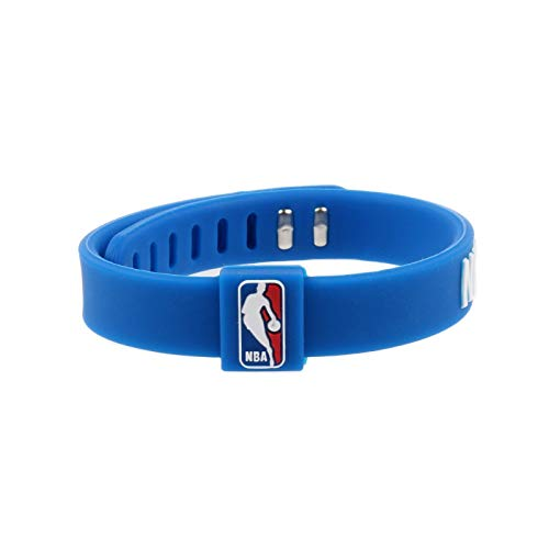 Xlin Pulseras de Silicona de Baloncesto Jugador de Equipo NBA Anillo for Ajustar Las Joyas transfronteriza Bulls Lakers Rockets Trueno (Color : NBA Teams)