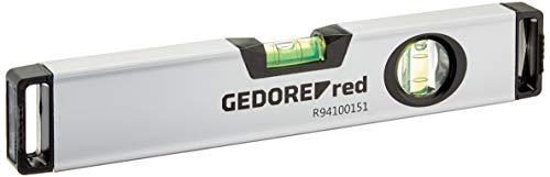 GEDORE rode waterpas met beweegbare libel, magnetisch lengte 300 mm