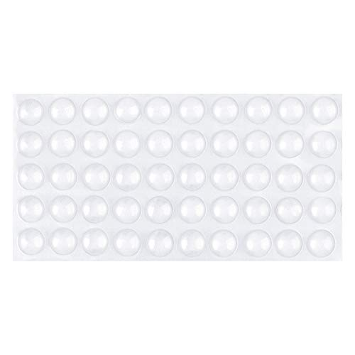 14 x Glass Table Grippers Grip Pads Adhesive Feet Buffer Cushion Stop Slide