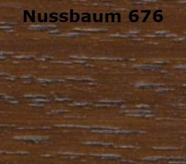 JOTUN TREBITT Holz-Lasur | Wetterschutz-Lasur | Holzschutz-Lasur | Premium-Qualität extrem lange Renovierungsintervalle |10 Liter NUSSBAUM 676