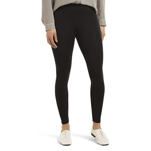 HUE womens Seamless Leggings, Assorted Hosiery, Navy, Small-Medium US