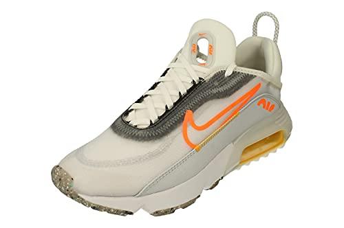 Nike Air MAX 2090 Hombre Running Trainers DA1502 Sneakers Zapatos (UK 9.5 US 10.5 EU 44.5, White Total Orange 100)