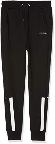 Calvin Klein Jungen Pant Schlafanzughose, Schwarz (Black 001), 152 (Herstellergröße: 10-12)