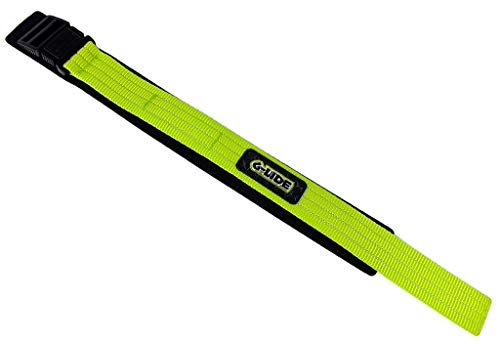 Casio Correa de velcro para reloj textil, 23 mm, color verde