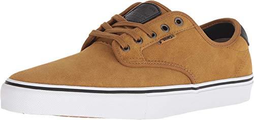 Vans Chima Ferguson Pro US Mens Size 75 Womens Size 9 CuminBlack Skateboarding Shoes