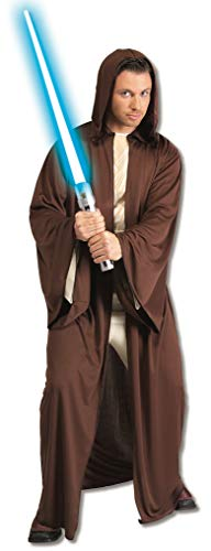 Rubie's Costume Star Wars Adult Hooded Jedi Robe, Brown, X-Large Costume