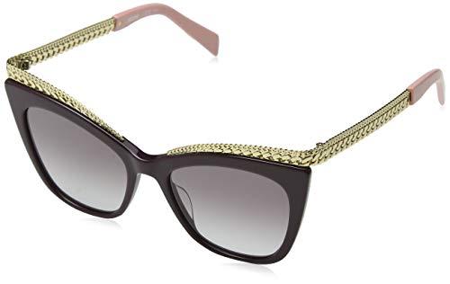Moschino Sonnenbrille Mos009/S Occhiali da Sole, Multicolore (Mehrfarbig), 52 Donna