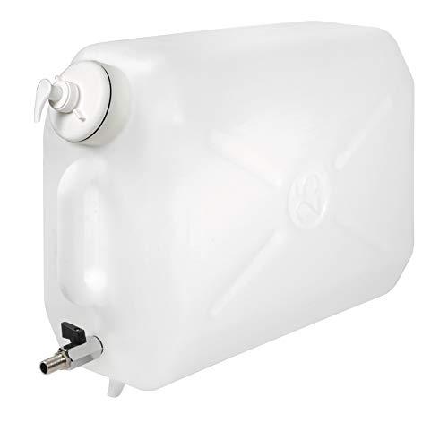 Lampa 97868 Tanica in plastica, con rubinetto in metallo e dispenser porta sapone - 25 L