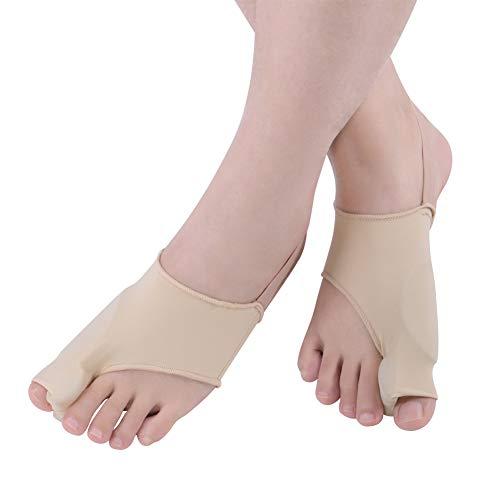 Corrector de pulgar valgo, férula ortopédica de silicona para juanetes, separador de dedo gordo para aliviar el dolor, corrección de hallux valgo no quirúrgica, enderezador de dedo en martillo.