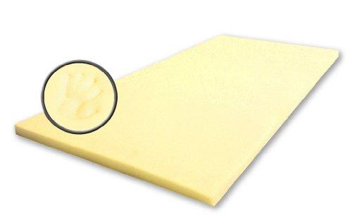 Best For You Viscoelastische Matratzenauflage Visco Matratzen - Auflage ohne Bezug - 11 Grössen 4 cm SUPER ANGEBOT! (100x200)