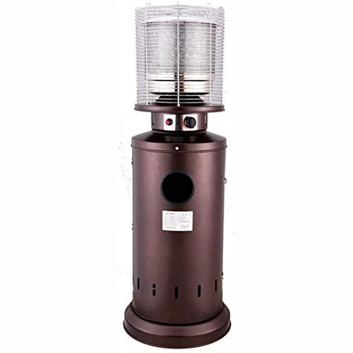 NZBⓇ Patio Heater Heizstrahler - Patio Heater Gasheizung, Garten Terrasse Energiespar-Verflüssigtes Heizung, Außen Erdgas Heizung kann Befeuchten siedendes Wasser (Color : Liquefied Gas)