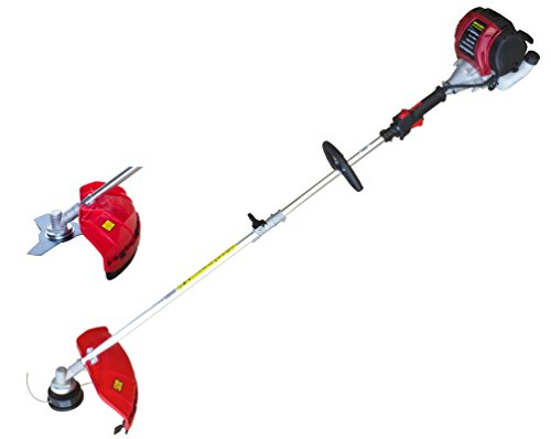 PowerSmart PS4531 Gas String Strimmer Brush Cutter, Red and Black