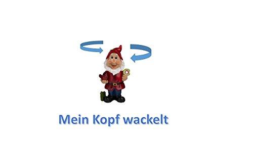 Wackel Gartenzwerg -