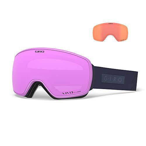 Giro Snow Damen EAVE Skibrille, Midnight Velvet Vivid pink/Vivid Infrared, Einheitsgröße