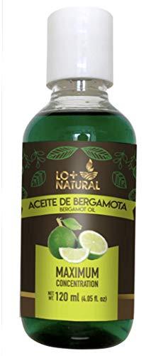 Aceite de Bergamota LENICO 100% Natural Bergamot Oil LENICO 120ml / 4.06oz. Helps the Growth Hair, Beard and Mustache.