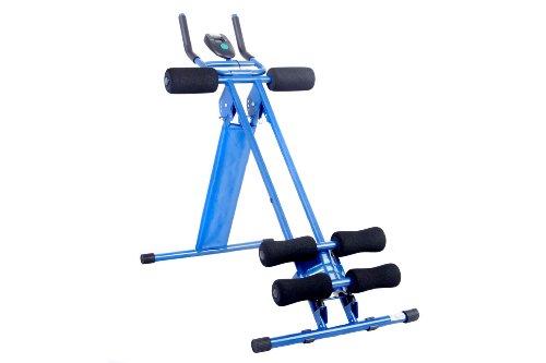 FA Sports Bauchtrainer Rgoo Energyplank, blau/schwarz, 95x53x14