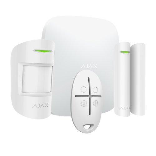 Ajax AJ-HUBKIT-W Sistema de Alarma Anti-Intrusión Profesional con Comunicación Inalámbrica Bidireccional