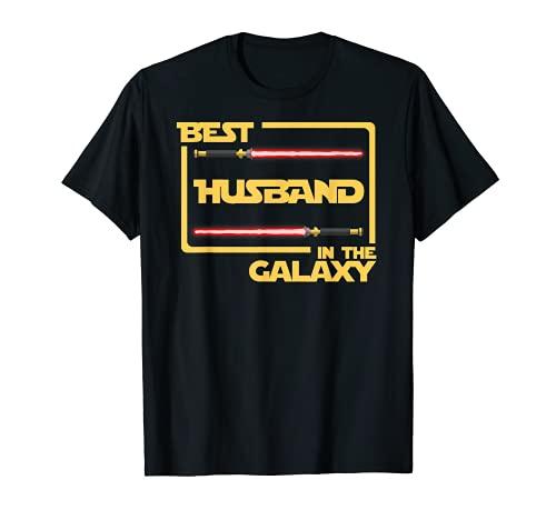 Anniversary Gift Best Husband in Galaxy Husband T-Shirt