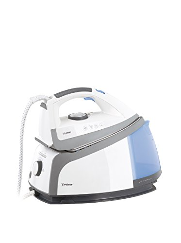 Trisa Electronics Permanent Steam i4470 2200W 1L Ceramica Blu, Grigio, Bianco