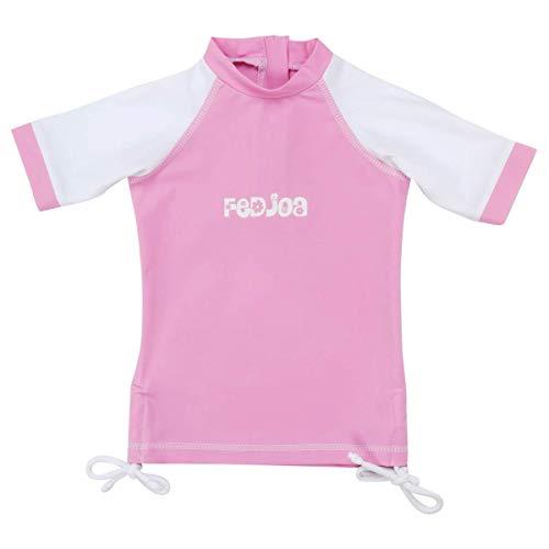 FEDJOA -T Shirt Anti UV UPF 50+ - Fille - Hollywood 24/36 Mois 12-14 kg