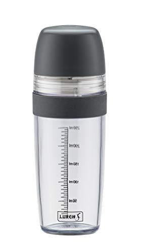 Lurch 10023 Dressing- und Teigshaker mit Zitruspresse und Mixer aus Kunststoff