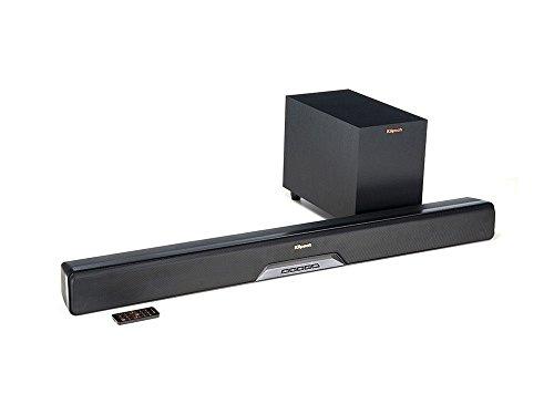 Klipsch 1063243 Reference RSB-6 Sound Bar mit Wireless Subwoofer schwarz