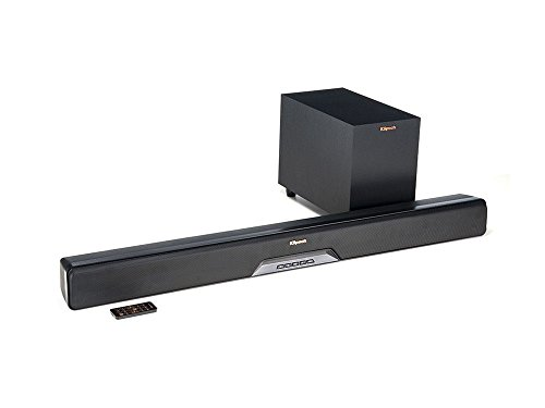 Klipsch 1063243 Reference RSB-6 Sound Bar mit Wireless Subwoofer schwarz