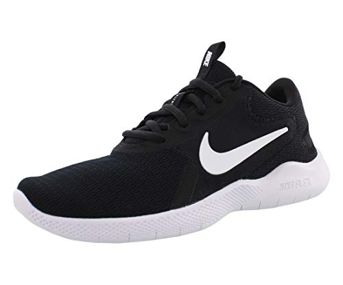 Nike Women's Flex Experience Run 9 Shoe, Black/White-Dark Smoke Grey, 11 4E US